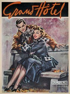 Grand Hotel Magazine (Italy), 18 September 1949. Cover art: Giulio Bartoletti