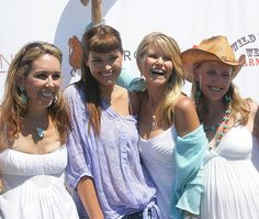 Jackie Harris Hochberg, Petra Nemcova, Christie Brinkley, Erica Karsch at the 19th Annual Einstein Family Day.