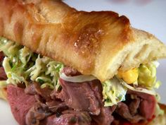 Roasted Leg of Lamb Sandwich from FoodNetwork.com