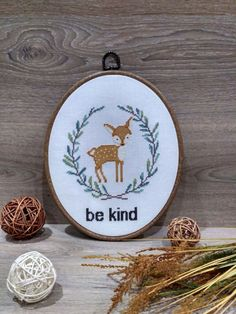 Be kind - counted cross stitch pattern pdf. The pattern will fit nicely in a 8x10 frame (or 20 cm x 25 cm) on 14 count fabric.  ★★★ Pattern specifications ★★★ This listing is for the PDF pattern only! Just download, print and cross-stitch!  ➔ Stitches used: full cross stitch. ➔ DMC Colors: 10 pieces (№ 844, 369, 3813, 522, 926, 451, 437, 712, 3865, 436). ➔ Design size in stitches: 84 x 98 ➔ Design size in inches and centimeters (approximately):  6 X 7 in or15.3 X 17.8 cm (for 14 count Aida…
