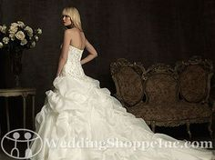 Order an Allure 8907 Bridal Gown at The Wedding Shoppe today