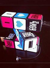 Clé USB Rubiks Cube Couleur3 Rubik's Cube, Usb, Boutique, Boutiques