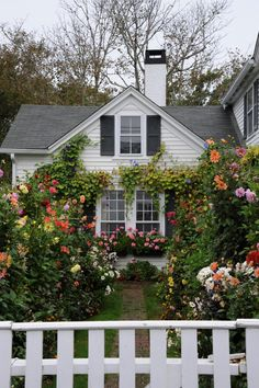 My future house/garden Cottage Shabby Chic, Cozy Cottage, Cottage Homes, Cozy House, Cottage Style, White Cottage, Grandma's House, Cottage Living, Cozy Living