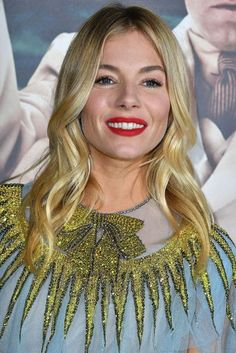 Sienna Miller Hair And Hairstyles Vogue Covers And Red Carpet | British Vogue