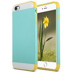 iPhone 6 Plus Case,ULAK Case for iPhone 6 Plus Hybrid Dual Layer Skin Rubber Bumper Case Cover for Apple iPhone 6 Plus 5.5 Inch(Aqua Blue/Rose Red) ULAK http://www.amazon.com/dp/B00Q2TCFO2/ref=cm_sw_r_pi_dp_v0Wnvb0CQA2GP
