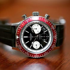 This beauty is the Longines Heritage Diver 1967.... | MICHAEL LUTHER