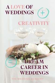 Certificate in Wedding Planning. Go behind the scenes of what it takes to plan the perfect wedding. Go It Alone, Dream Career, Industrial Wedding, Perfect Wedding, Wedding Planner, How To Plan, Mistakes, Certificate, Creative