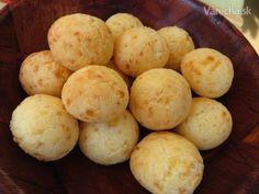 Pao de queijo (pau di kejžu) - syrové žemličky z Brazílie (fotorecept) - Recept