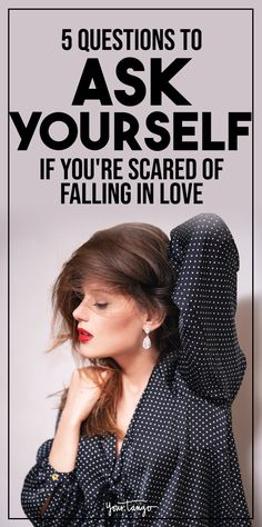 If you're reluctant to enter into a relationship, you might be scared of love. But what is it about falling in love that makes you so weary to commit? Be sure to ask yourself these questions before you give up on finding your soulmate. Afraid Of Love, Scared To Love, Fear Of Love, Healthy Relationship Tips, Relationship Advice, How To Massage Yourself, Make Him Chase You, Afraid Of Commitment, Love You Boyfriend