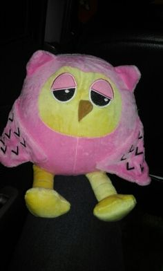 My lovely owl.... my mom give it to me ♡