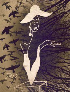 ©Style, painted by Iris Sun, watercolor  www.irisunart.com