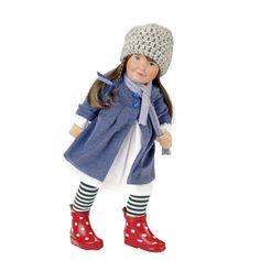 doll/Puppe: Käthe-Kruse Puppen - Produkte - Lolle Elke. Ab 3 Jahren! weicher Schlenkerkörper aus Stoff. 54 cm.