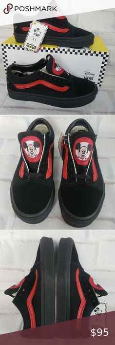 13 Best Mickey Mouse vans images | Disney shoes, Me too