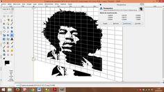 Segundo paso: Una vez seleccionada la herramienta de perspectiva pinchamos en la parte inferior izquierda de la imagen, pincha ( nos aparecerá la imagen fraccionada) sin soltar el cursor y empieza a deformarla por el lado izquierdo subiéndola hacia arriba.