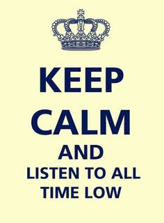 "There is no such thing as ""Stay Calm"" while listening to ATL"