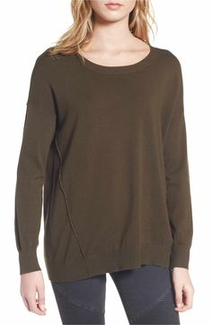 b70907d69e9 Dreamers by Debut Forward Seam Tunic Sweater Anniversary Sale
