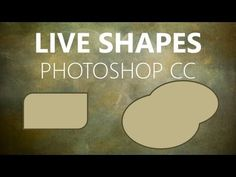 Live Shapes in Photoshop CC - Mike Hoffman