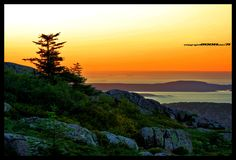 Sunrise Cadillac Mountain. Truly, one of the most beautiful places on earth.