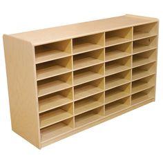 Wood Designs Letter Tray Storage Unit