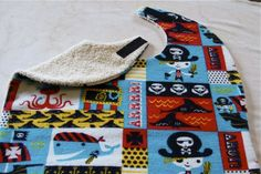 how to make sew and no-sew bibs