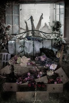 I am completely in love with this work. Untitled by Kirsty Mitchell, from Le jardin de ma mère...., via Flickr