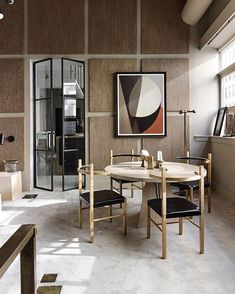 Dining Room Inspiration, Interior Design Inspiration, Monochrome Interior, Wall Molding, Moldings, Modern Office Design, House Inside, Room Ideas Bedroom, White Houses