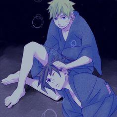 Cutest ever omg (Sasuke Naruto)