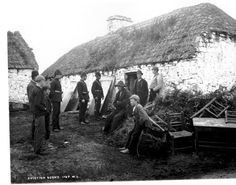 Irish Catholics evicted from their home -  I will NEVER forget!!!...Hate it!