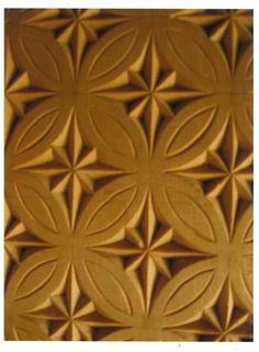 Custom Made Chip Carved Panel