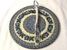 Polish Pottery Cheese Plate set, $44.95