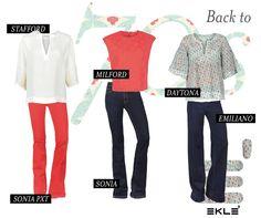 Back To 70s! Pronte a mettere da parte gli Skinny Jeans? Lasciatevi tentare dalla tendenza dal sapore Seventies Eklè! #ekle #latesttrend