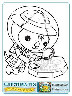 lots of octonauts printables -- make a coloring book? | octonauts ... - Octonauts Coloring Pages Print