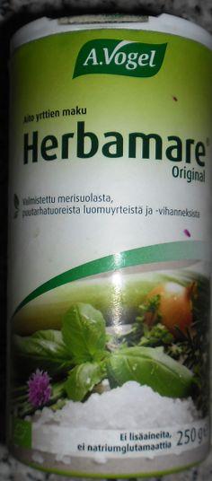 herbamare mauste seos Honest Tea, Drinks, Bottle, Food, Drinking, Beverages, Flask, Eten, Drink