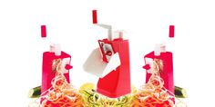 """AFFETTA ORTAGGI Express - RIGAMONTI  Taglia affetta verdure anche a """"Spaghetti"""" e """"Tagliatelle"""", realizzato in polipropilene atossico per alimenti.  Lama in acciaio inox temperata e affilata.  Lavabile in lavastoviglie."""