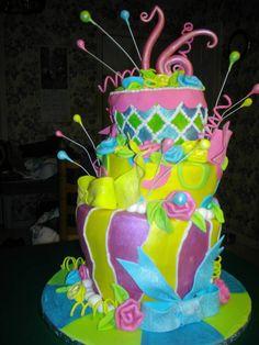 Cake Boss birthday cake