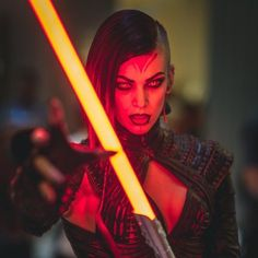 star wars sith - Cosplay artist Miss Sinister recently created a female costume version of the Star Wars Sith character for the DragonCon event. The costume is incr...