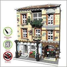 LEGO MOC Modular Florist - CUSTOM Model - PDF Instructions Manual | Toys & Hobbies, Building Toys, LEGO | eBay!