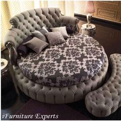 Round sofabed