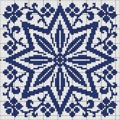 More square tiles - Chart for cross stitch or filet crochet. Biscornu Cross Stitch, Cross Stitch Charts, Cross Stitch Designs, Cross Stitch Embroidery, Cross Stitch Patterns, Filet Crochet, Crochet Chart, Bordado Tipo Chicken Scratch, Tapestry Crochet