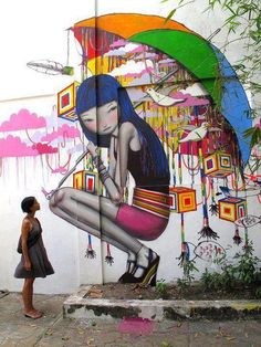 Great street art from the artist - Seth