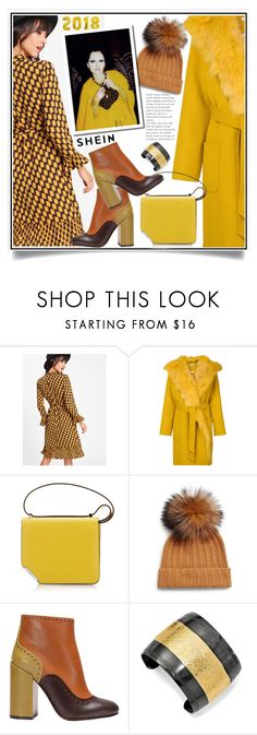 """Shein"" by ewa-naukowicz-wojcik ❤ liked on Polyvore featuring P.A.R.O.S.H., Saks Fifth Avenue, Marc Jacobs, L'Autre Chose and 1928"