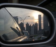 Looking in my rear view mirror..