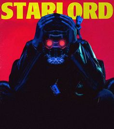 Fan art of 'Star-Lord' from 'Guardians Of Galaxy'