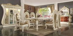 Luxury Dining Room, Dining Room Sets, Dining Table, Dining Chairs, Furniture Near Me, Wooden Furniture, Table Furniture, Bedroom Furniture, Furniture Ideas