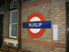 Ruislip - ahhh many a trip leaving from this tube station