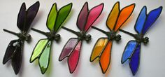 Dragonfly Stained Glass Pattern | All orders are placed by phone at (603) 893-2286. Thank you!