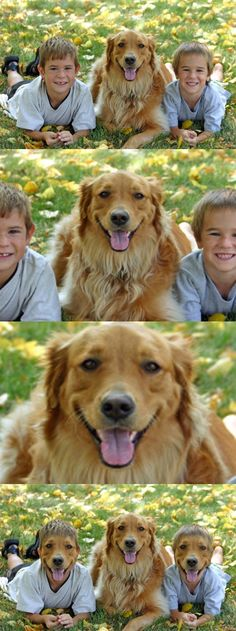 Dog & Kids Face Swap