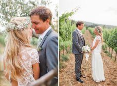 photographe mariage provence chateau grand boise couronne de fleurs