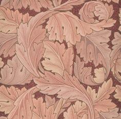 """Acanthus"" / Flores de acanto/ William Morris design/ Morris & Cia / Museo Nacional de Artes Decorativas"