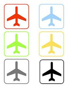 Airplane Printables & more decorating ideas